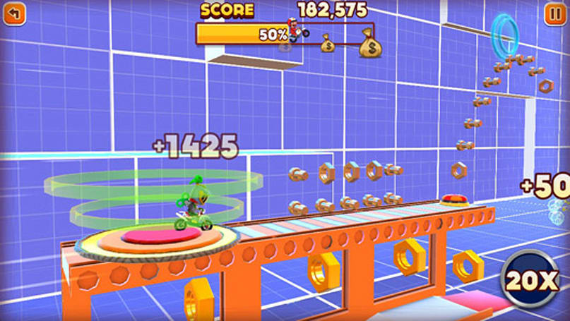Joe Danger: Infinity gets daily challenges, over 2 million crashes logged