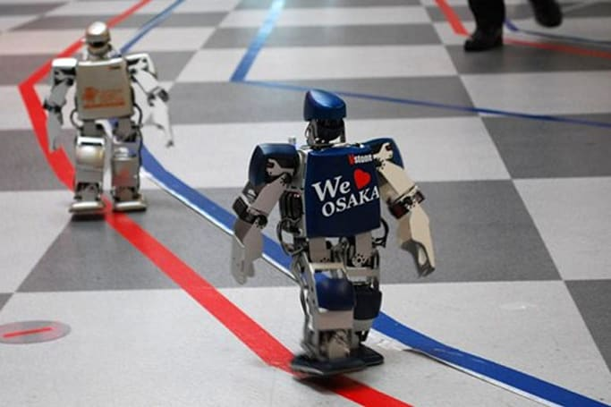 World's first robot marathon gets off to a slow start, will likely stay that way