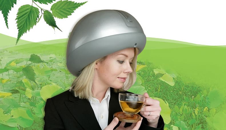 Headtime scalp massager massages scalps, blows minds
