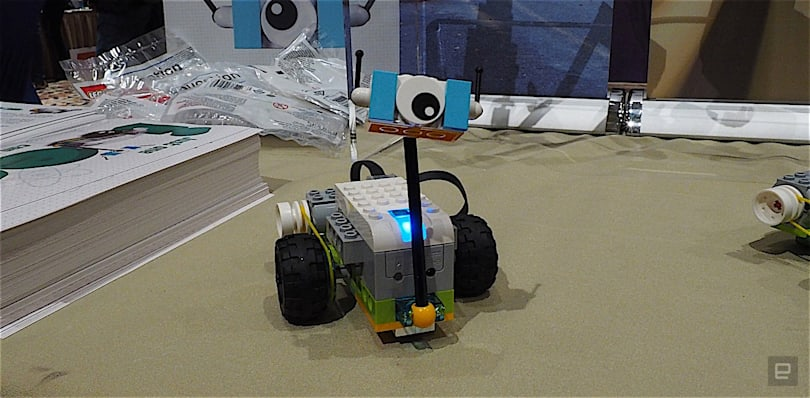 LEGO's little bot teaches kids about science and coding