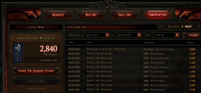 An introduction to the Diablo 3 economy for WoW players