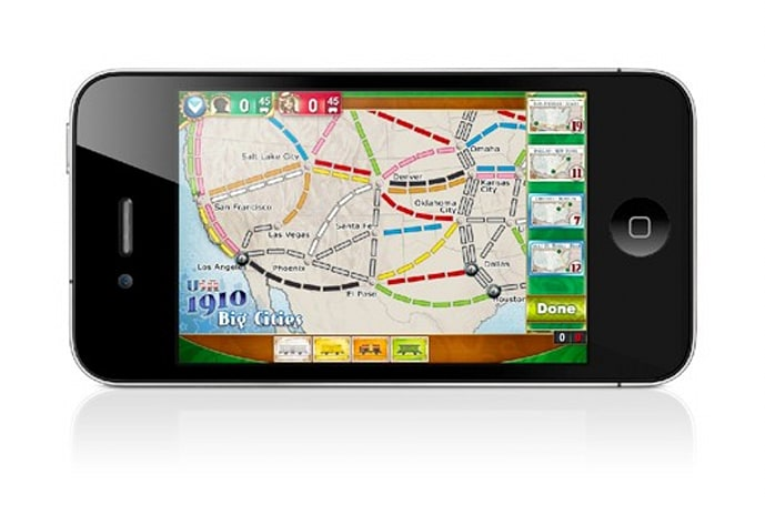 Ticket to Ride Pocket adds tracks to 1910 Expansion