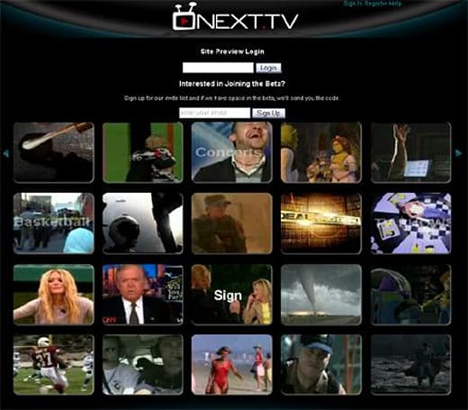 NEXT.TV portal promises hundreds of TV channels, movies