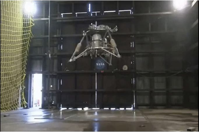 NASA lander prototype ditches the manpower for an autonomous flight (video)