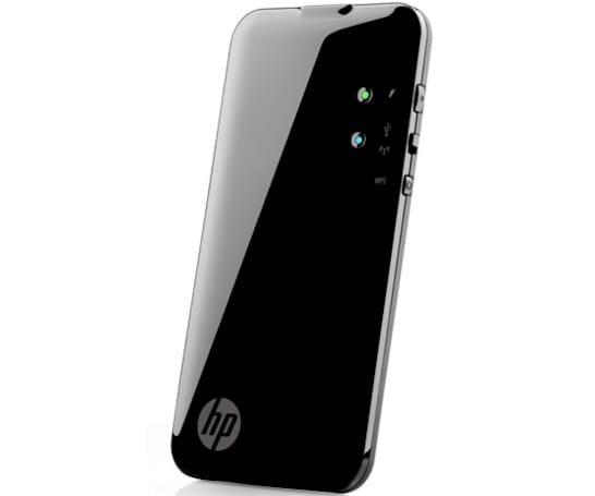 HP Pocket Playlist WiFi drive takes video from Hulu or Netflix, shares media with five devices