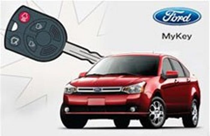 Ford MyKey lets parents control their kids' driving habits