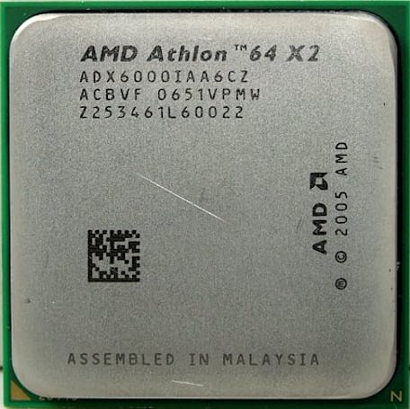 AMD's new consumer flagship proc, the X2 6000+