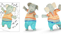 Disney Research app turns colored drawings into 3D characters