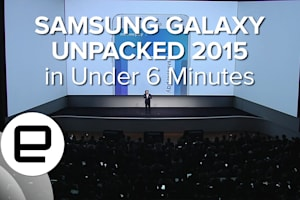 Samsung Galaxy Unpacked 2015 Presentation in Under 6 Minutes