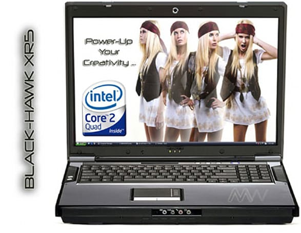 "PC MicroWorks rolls out Black-Hawk XR5 ""super notebook"""