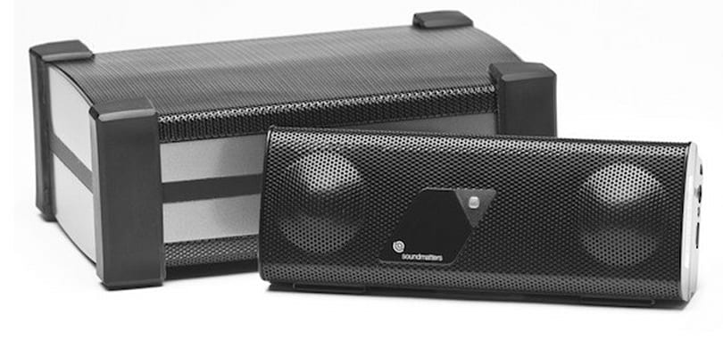 Soundmatters foxLo subwoofer adds umph to your FoxL v2 Bluetooth speaker, 'fits in your palm'