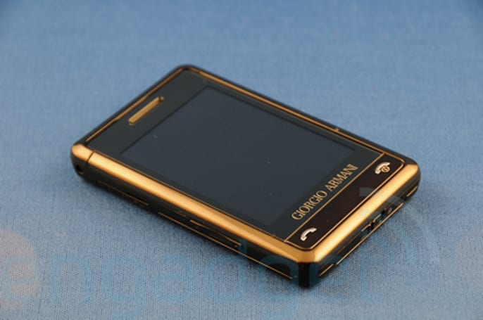 Hands-on with the Samsung P520 Armani