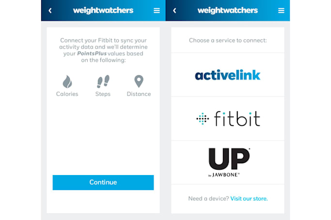 Weight Watchers pulls data from Fitbit and Jawbone fitness trackers (updated)