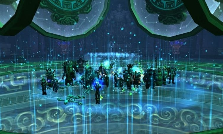 Blood Pact: Vault's end with multitarget magic