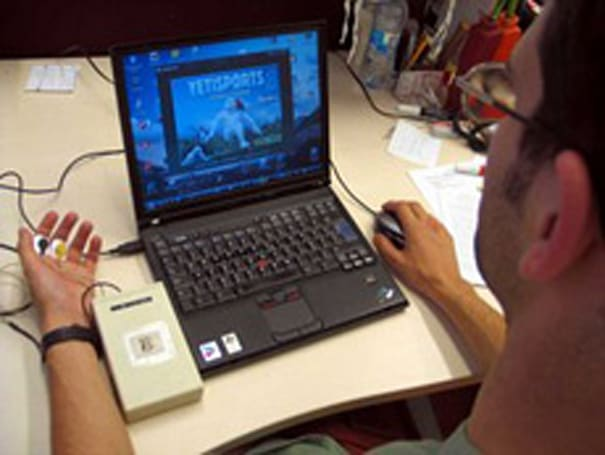 Biofeedback signals used to predict gamers' moves