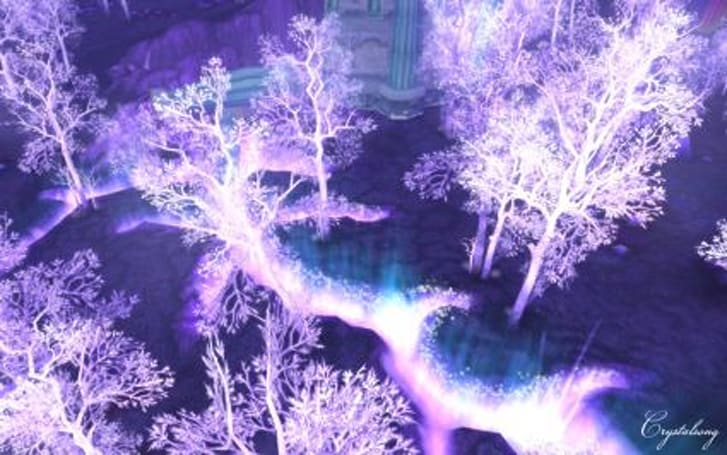 Around Azeroth: Crystalline perfection