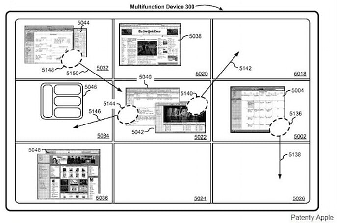 Patent hints at Apple's Spaces on the iPad