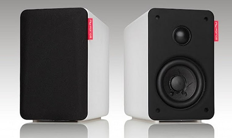 NuForce launches $300 Bluetooth 4.0 bookshelf speakers, promises to please audiophiles
