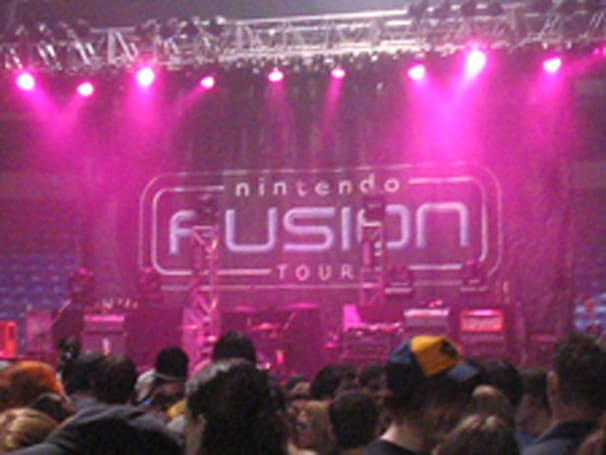 Nintendo Fusion Tour begins, no one listens to the music