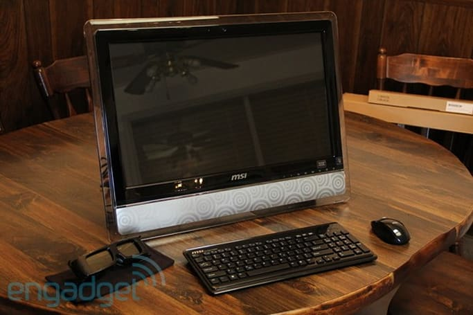 MSI Wind Top AE2420 3D all-in-one review