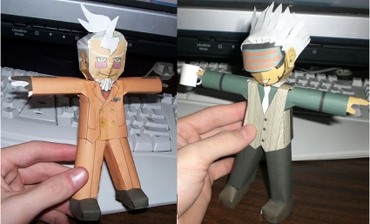 Papercraft is awesome. That's one of my rules.