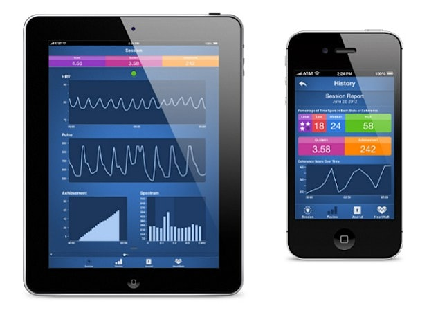 HeartMath unveils Inner Balance iOS app and sensor for managing stress, clearing the mind