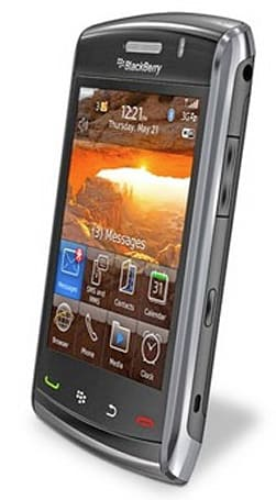 Original BlackBerry Storm to get flick scrolling, better browsing through firmware update?