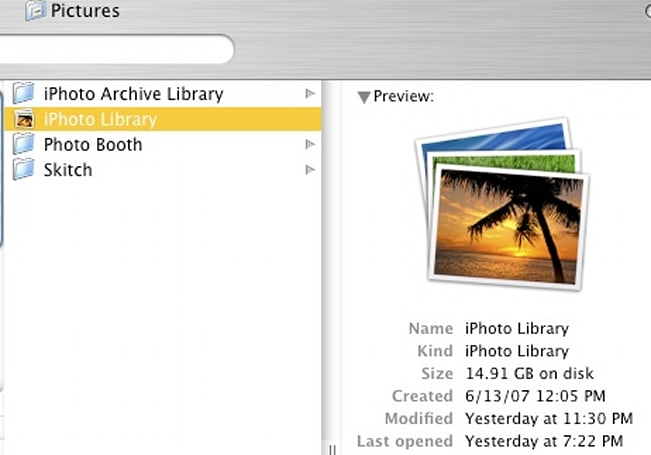 TUAW Tip: Crack open the monolithic iPhoto '08 Library