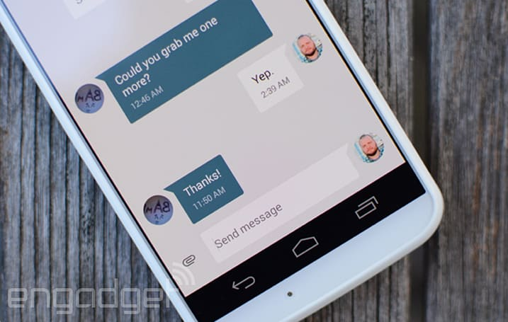 Google releases standalone Messenger app for Android