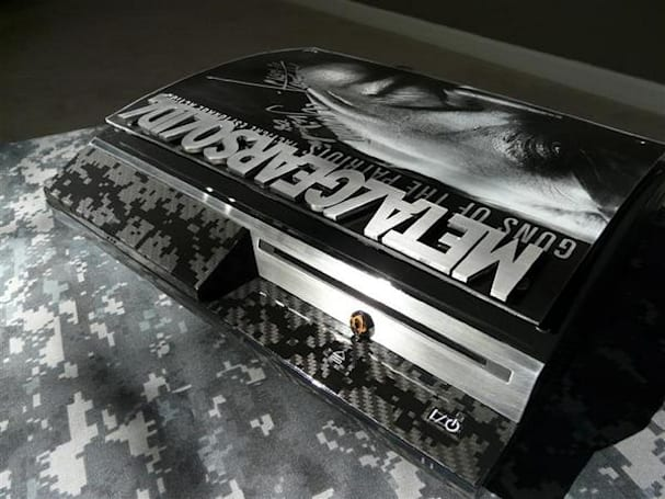 Custom Metal Gear Solid 4 PS3 back on eBay
