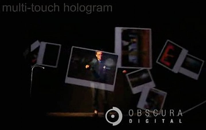 "Obscura Digital projects multi-touch ""hologram,"" blows all sorts of minds"