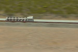 Hyperloop One Propulsion Test
