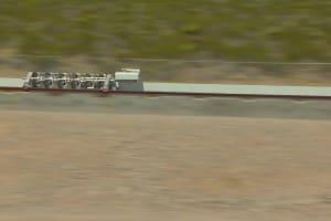 Hyperloop One Propulsion Test