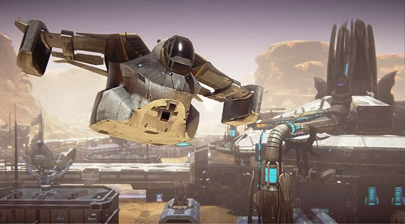 SOE shows off PlanetSide 2's Galaxy transport
