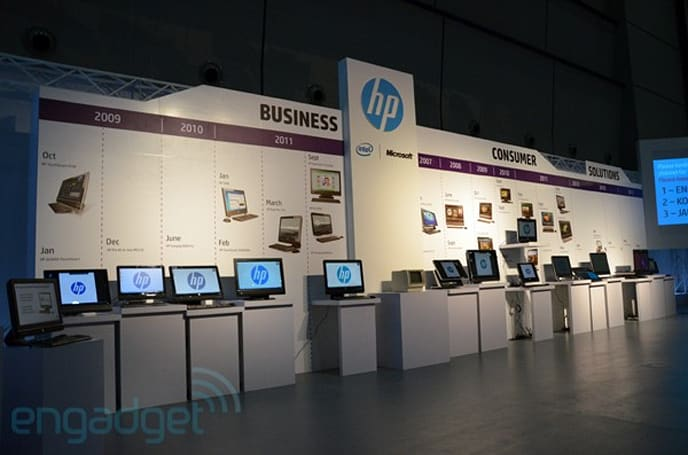 Visualized: HP's all-in-one PCs over the years, one from 1983