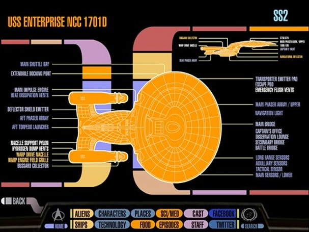Star Trek PADD App is a LCARS-sporting Trekkie's reference bible for the iPad