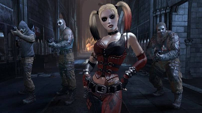 Trophies suggest Batman: Arkham City getting Harley Quinn DLC