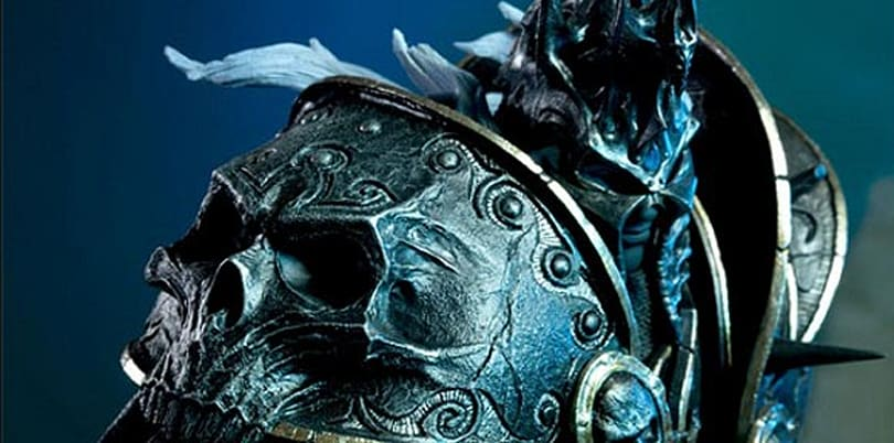 Limited edition Arthas statue available for preorder from Sideshow Collectibles