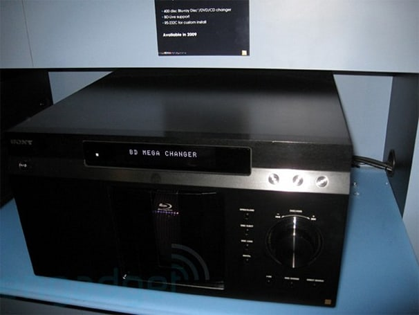 Sony's 400-disc Blu-ray Mega Changer reviewed, huge