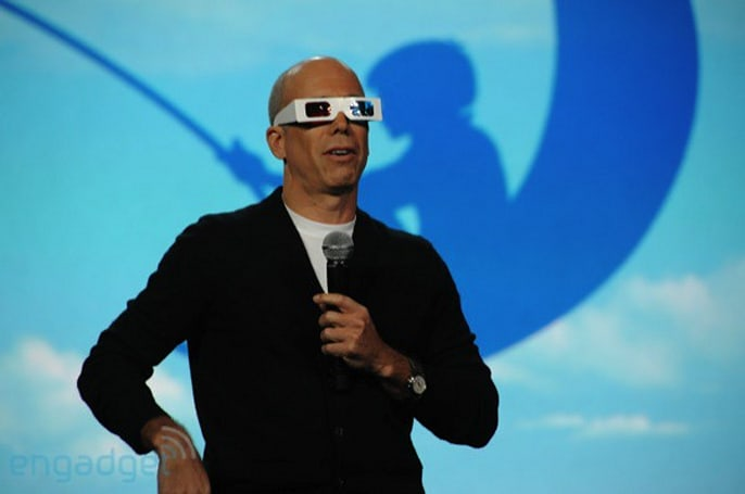 CE-Oh no he didn't!: Katzenberg says 'beautifully styled' 3D glasses won't make you look like a dweeb