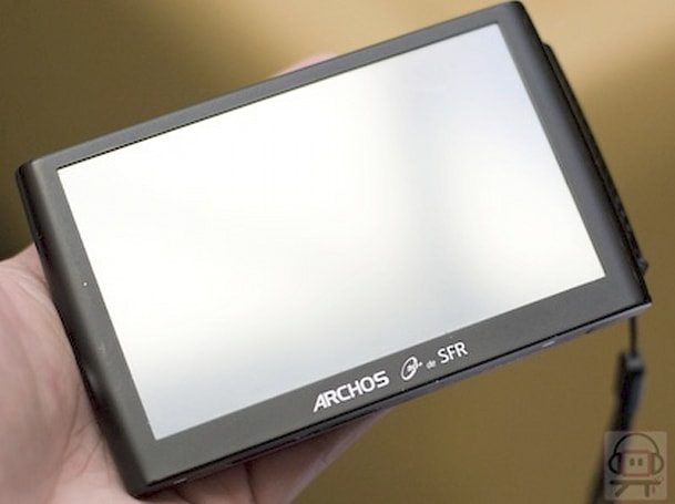 3G-enabled Archos 5 and Eee PC 901 announced by French wireless carrier SFR