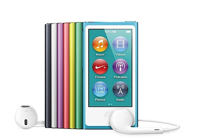 Apple refreshes iPod nano: 2.5-inch multitouch display, 16GB, Bluetooth, available this October for $149
