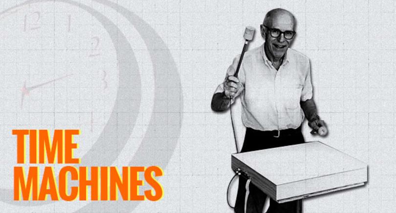 Max Mathews' one-man electronic orchestra