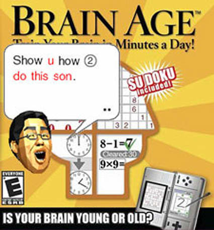 Brain Age bestowed Edge award, beats out Guitar Hero, others