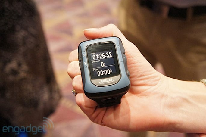 Magellan Switch, Switch Up GPS watch hands-on (video)