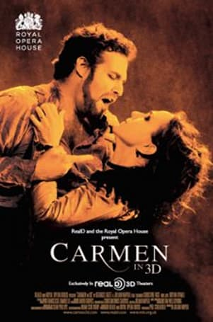 Carmen in 3D hits 1,500 movie theater screens tomorrow