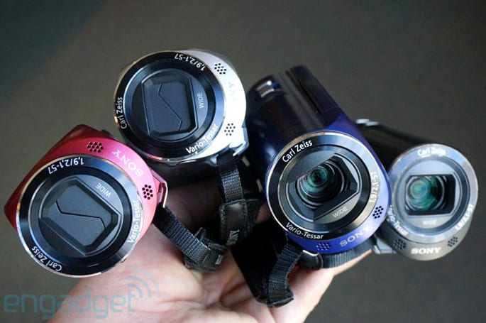 Sony kills off SD camcorders, launches four entry-level Handycams starting at $249 (hands-on)