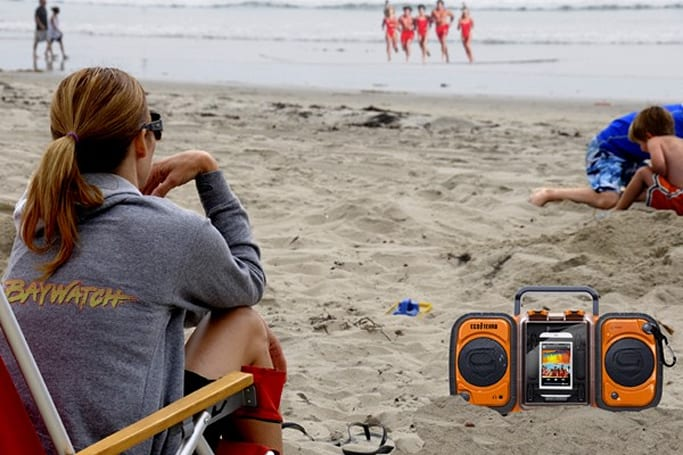 Grace Digital's Eco Terra boombox now available for $149.99, ready to rock the beaches