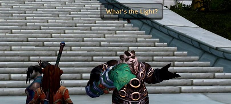 The ins and outs of pandaren roleplay characters