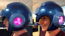 米カプコン、着用可能なロックマン(MEGA MAN)ヘルメットの販売を予告。LEDイルミ&ポリッシュ仕上げ